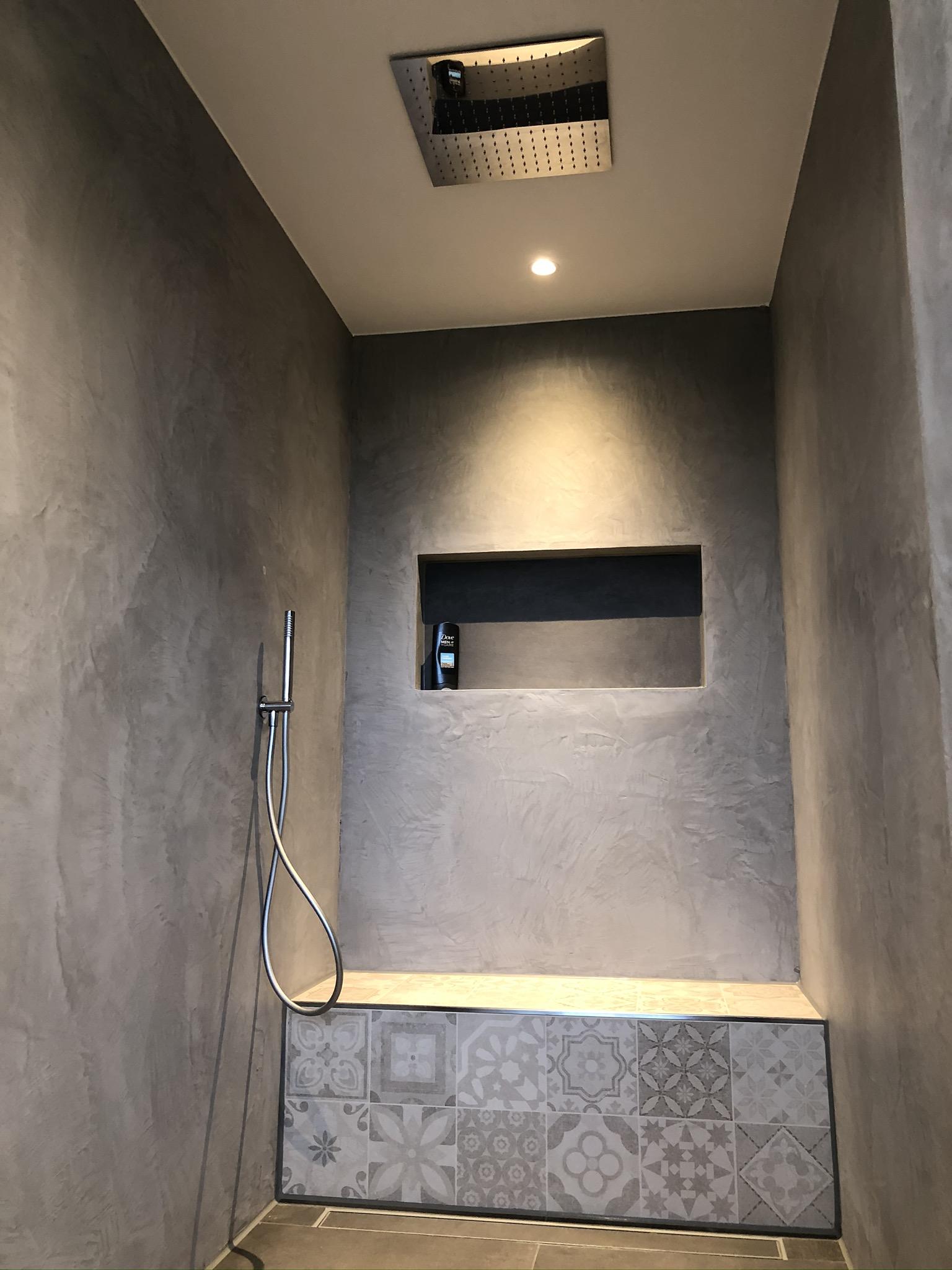 Lavello inbouw douche met luxe plafond hoofddouche