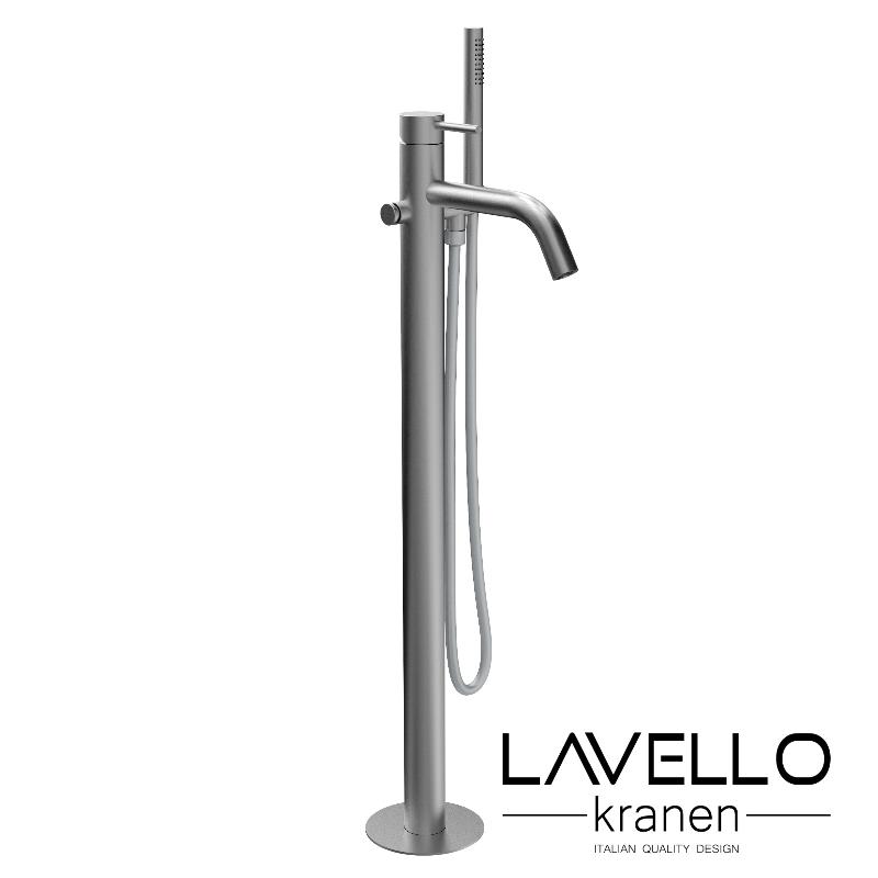 Lavello-Trek-vrijstaande-badkraan-RVS