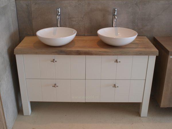 Badkamermeubel, goedkoop, hout, landelijk