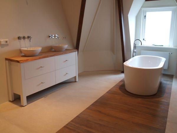 Badkamermeubel, landelijk, hout, goedkoop